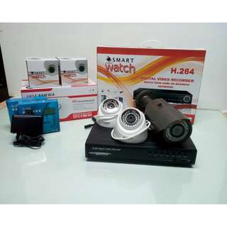 CCTV Smart Watch 3 HD Camera Package for Surveillance