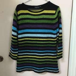 間條線衫/上衣stripe sweater
