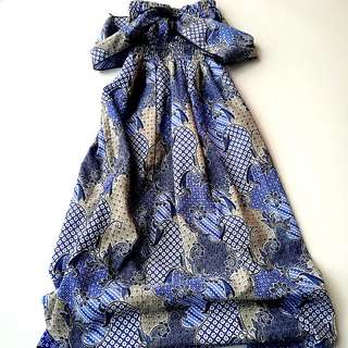 Batik Bali Dress usia 3-4