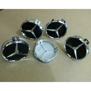 DOP RODA/WHEEL CAP/ VELG MERCEDES BENZ (4 Warna Cek VIDEO)