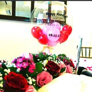 Wedding balloon decorations ROM