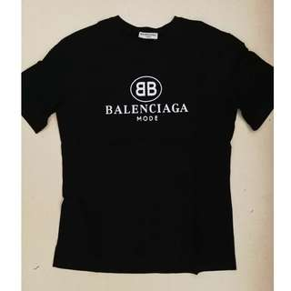 Balenciaga MODE Cotton T-shirt. 2 colours available.
