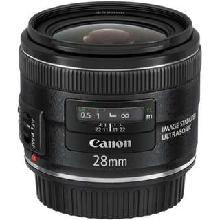 EF 28mm f/2.8 IS USM Lens Canon