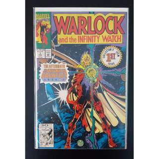 Warlock and The Infinity Watch #1-10 (1992) Set of 10 Books. Direct Edition 1st Print (Aftermath of The Infinity Gauntlet)