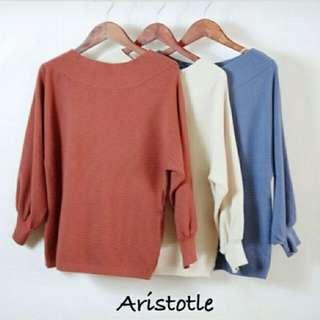 Knit Aristotle  bahan knit halus fit to L