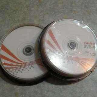 evodisc DVD-R 10隻(2盒)