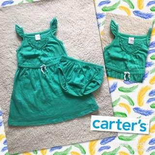 Carter's Blue Green Dress