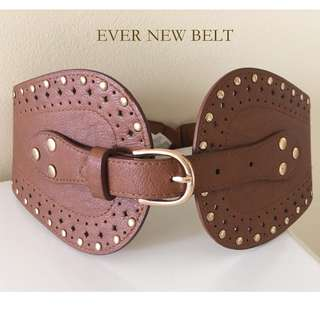 EVER NEW BROWN BELT - XS