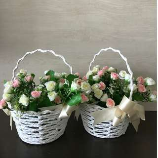 Flower girl basket (wedding flowergirls)