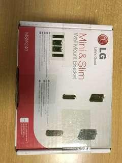 全新 LG MSW240 WALL MOUNT 超薄鋁金屬掛牆架