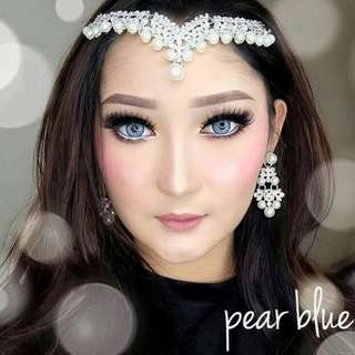 Softlens pearblue
