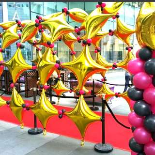 Balloon walkway balloon arch special events decorations