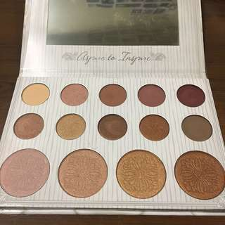 BH Cosmetics Carli Bybel 10 Color Eyeshadow & 4 Color Highlighter Palette