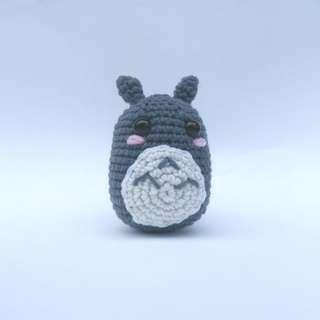 PLUSHIE Ready To Ship: Mini Totoro, My Neighbour Totoro Studio Ghibli (Crochet Amigurumi)