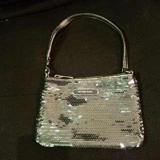 Michael Kors - Ladies Sequins Purse (Silver Color)