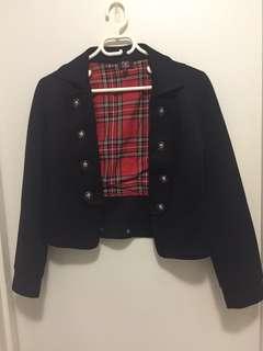 Grunge Black Jacket