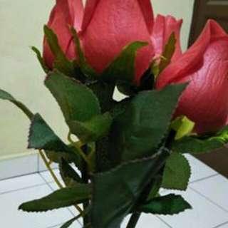 Saya jual bunga Mawar baru