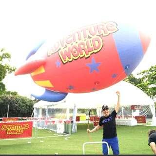 Custom super size promotional helium balloons giant balloons