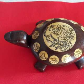 Offer-Antiques Chinese Wooden Turtles