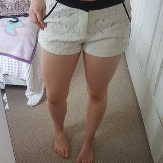 Cute patterned shorts