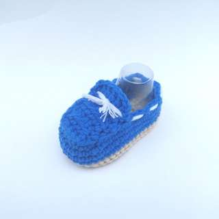 BABY BOOTIES: Baby Shoes, Baby Loafer, Baby Moccasin (Crochet)