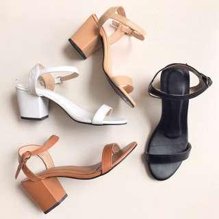 Olivia Block Heels