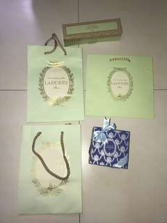 Laduree Paper bag