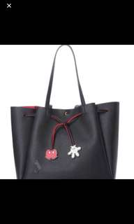 COLORS by Jennifer Sky Disney Limited Collections Tote bag Mickey Mouse (BLACK COLOR)