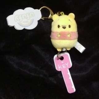 Winnie the Pooh 小熊維尼 可伸縮 鎖匙扣