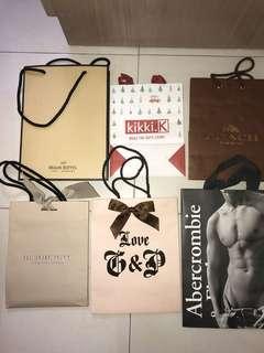 Various Brand paper bag