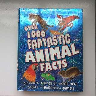 1000 Fantastic Animal Facts