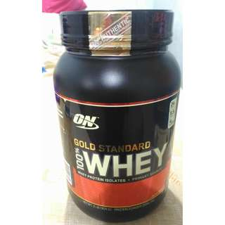 **SOLD** Sealed and Brand New Optimum Nutrition Gold Standard 100% Whey 2 lbs Double Rich Chocolate https://goo.gl/VkMtME