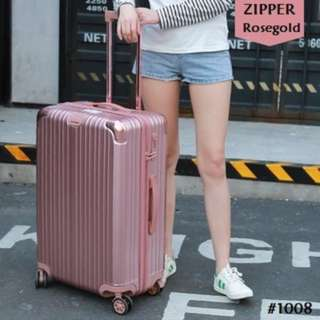 ZIPPER style universal wheel travel luggage