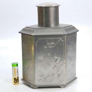 懷舊 錫茶葉罐