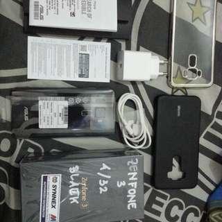 Asus Zenfone 3 Ze520kl baru 1 bulan pake, garansi panjang! Mulus