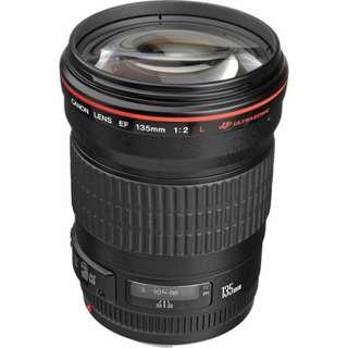 EF 135mm f/2L USM Lens Canon