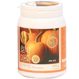 Korean N-Choice Premium Pumpkin Yam gruel 600g + Coccidentalis Black Bean Yam Gruel 600g 1 for 1 Bundle