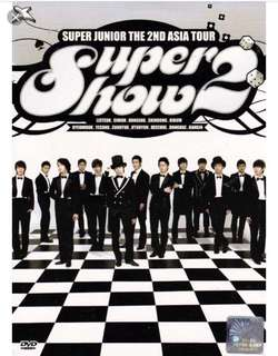 Super Junior Super Show 2 SS2 DVD (99%新 包平郵)