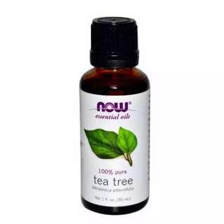 NOW tea tree essential oil 30ml