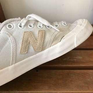 New Balance Proctwt 復古帆布鞋 米白藍