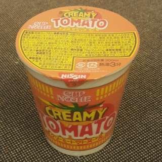 日清極濃忌廉蕃茄杯麵<期間限定>