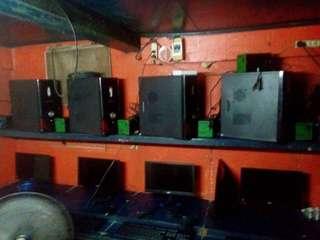 10 set of PC + 1 Server PC