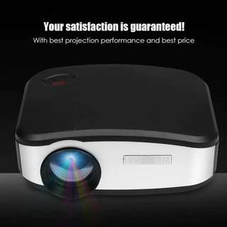 C6 Mini Portable LED Pico Pocket Projector 1200 Lumens