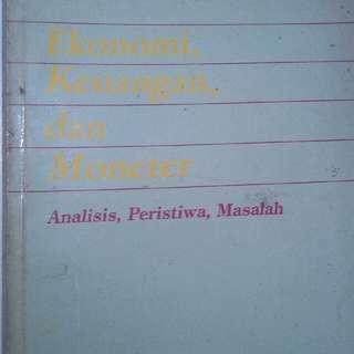 Buku Ekonomi, keuangan dan moneter