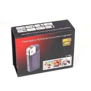 1080P Spy Lighter Hidden Camera Security Camcorder Flashlight HD Multi-Function Lighter Camera Mini DVR V18