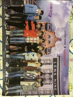 LENS NINE X Wanna One Poster 海報