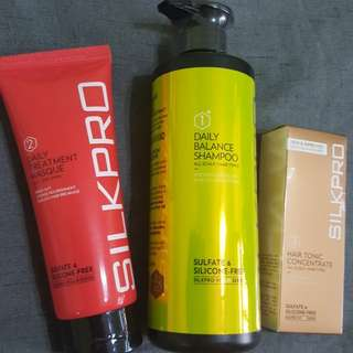 Silkpro Haircare Series