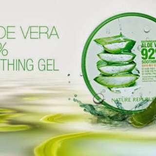 Nature Republic 92% Aloe Vera Soothing Gel 300ml