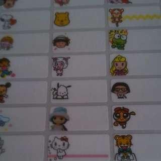 Mixed Girls Design Stickers