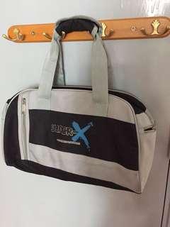 [yyy032] Super-x 灰色運動手提袋